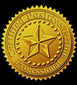 positive prime certified logo